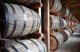 oak barrels stacked top. Oak Barrels Stacked Top