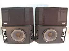 bose 301 series iv. vintage bose 301 series iv direct reflecting bookshelf main stereo speakers iv