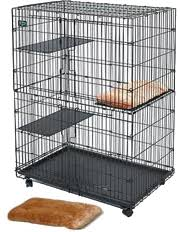 <b>Клетка</b> для кошек <b>MidWest Cat Playpens</b> 90х59х121h см купить с ...