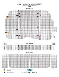 Motown The Musical Seating Chart Lunt Fontanne Theatre