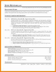 Template Nursing Resume Sample Lovely Templates Rn 10 Premi Rn