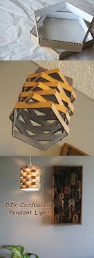 the cardboard chandelier
