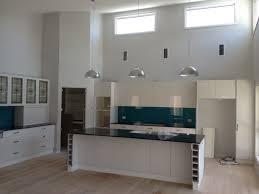 Galley Style Kitchen Galley Style Kitchen With Raked Ceilings And Hi Lite Windows