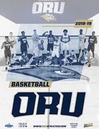 2018 19 Oru Mens Basketball Media Guide By Oru Athletics