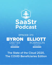 SaaStr Podcasts for the Week with Byron Deeter, Elliott Robinson, Henry  Schuck, and Jason Lemkin | SaaStr