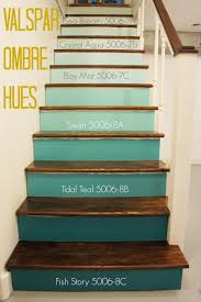 Sometimes I Just Cant Contain Myself When It Comes To Design - Painted basement stairs