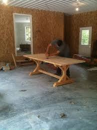 farm style kitchen table plans. bench for kitchen table farm style plans