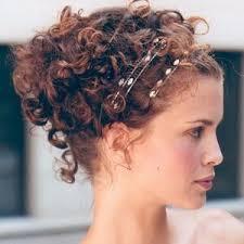 Coiffure Mariage Cheveux Frises