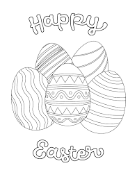 With easter approaching fast, we love the idea of these fun coloring sheets. Free Easter Printable Coloring Pages For Kids