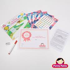 Potty Training Chart Stickers Potty Patty