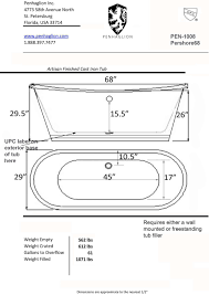 victorian tub drain included printer friendly spec sheet