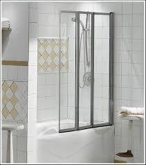 trend trackless shower doors frameless bi fold tub you