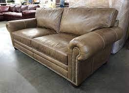 langston leather sofa in italian
