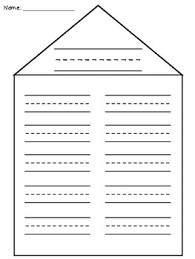 Word Families Template Word Family House Templates Worksheets Teaching Resources