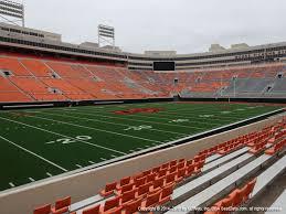Boone Pickens Stadium Interactive Seating Chart Boone Pickens Stadium View From Lower Level 119 Vivid Seats