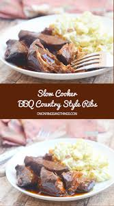 Recipe For Country Style Ribs In Slow Cooker