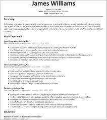 Resume Templates Customer Service Representative Elegant Patient Service Representative Resume Template Josh Customer 5