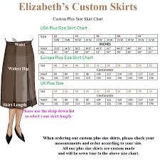 Skirt Measurement Fashion Dresses