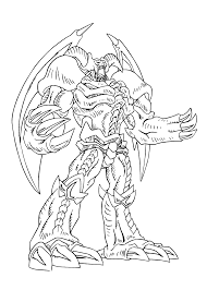 Yu Gi Oh Anime Coloring Pages