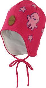 Вязаная <b>шапка Huppa Silby</b> 83710000-90063 90063, fuchsia ...