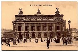 here below are some actual images of the palais garnier and the lake underneath