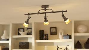 The Popular Industrial Track Lighting Intended For Residence Decor