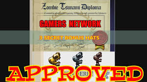 zombie tsunami get diploma at level and secret bonus hats  zombie tsunami get diploma at level 100 and 3 secret bonus hats