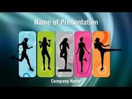 Exercising Powerpoint Video Template Backgrounds Digitalofficepro