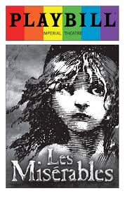 shop by show les miserables les miserables 2016 playbill rainbow pride logo