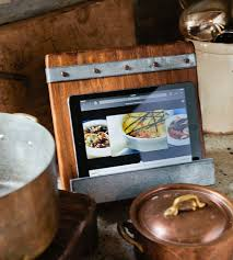 Cast Iron Recipe Book Stand | Cookbook Holder | Rustic Cookbook Holder