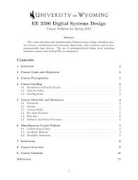 Digital Systems Design Using Verilog Solution Ee 2390 Digital Systems Design