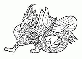 Printable Dragon Coloring Pages Ninjago Dragon Coloring Pages For