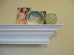 decorating custom shelf fireplace mantel rope molding primed decor