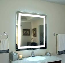 wall mount magnifying mirror with lighted oil rubbed bronze lighted makeup mirror wall mount ideas cozy