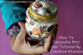 How To Decorate A Glass Jar How To Decorate Glass Jar with Collage Clay Tip Junkie 96