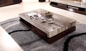 coffee table designs. VIEW IN GALLERY Contemporary Solid Wood Coffee Table Design With Marble Top Ideas Designs