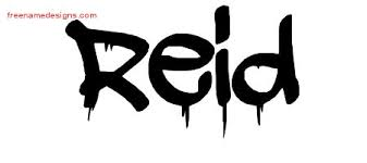 reid name. graffiti name tattoo designs reid free d
