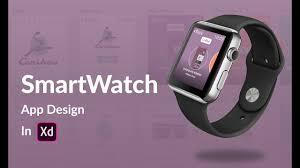 Smartwatch App Design Smartwatch App Design In Adobe Xd Caribou Coffee App Speedart