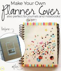 make your own cover perfect for notebooks journals plannerore