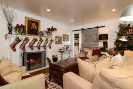 home office green themes decorating. Tour This Equestrian-Themed Farmhouse Decked Out With Christmas Decor Home Office Green Themes Decorating A