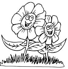 Spring Coloring Pages For Toddlers At Getdrawingscom Free For