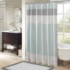 inspirative blue clear shower curtain and shower curtain and charming rug