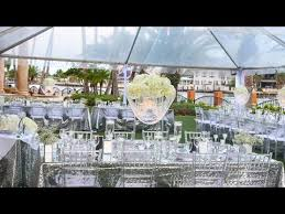 glam diy lighted crystal chandelier centerpiece full wedding day reveal