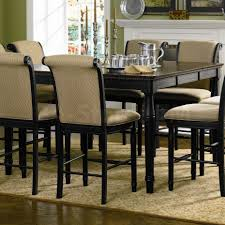 pc cappuccino finish counter height dining table counter height table with leaf bar pub tables sets coa