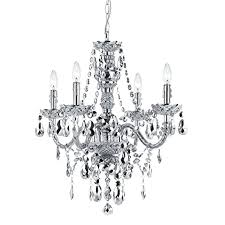 silver crystal chandelier how to make home romantic and using light orb
