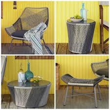 outdoor furniture west elm. West Elm Huron Set. The Great Outdoors! Outdoor Furniture