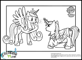 Small Picture Shining Armor Coloring Pages Minister Coloring