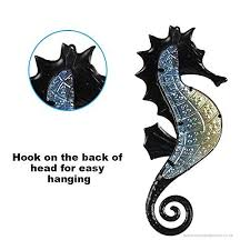 liffy metal seahorse wall art outdoor