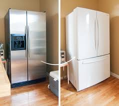 stainless steel and white appliances. Contemporary Appliances Whitefridge01 For Stainless Steel And White Appliances