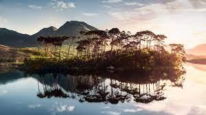Wallpaper Ireland, lake, mountains ...
